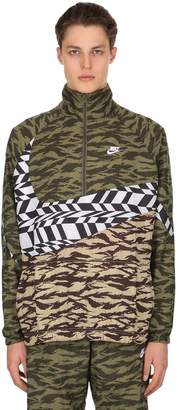Nike Swoosh Woven Packable Track Jacket