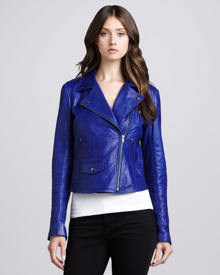 Theory Elenian Leather Jacket