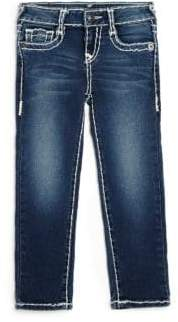 True Religion Toddler's& Little Girl's Casey Natural Super T Skinny Jeans