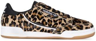 adidas Continental leopard print low-top sneakers