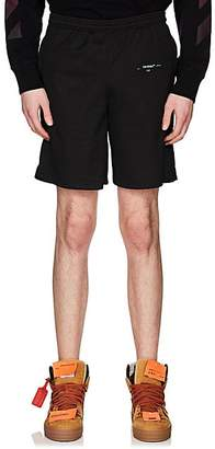 Off-White Men's Mesh Shorts - Black