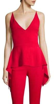 Cushnie et Ochs Waterfall Peplum Top
