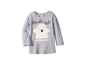 Mud Pie Halloween Ghost Long Sleeve Tunic (Infant/Toddler)