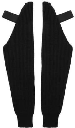 Raf Simons Wool Sleeves - Mens - Black