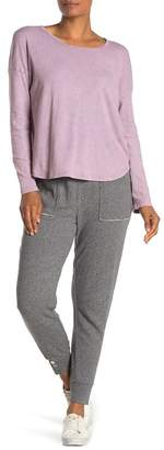 Splendid Button Cuff Joggers