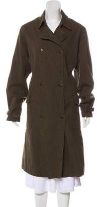 Chimala Long Wool-Blend Coat