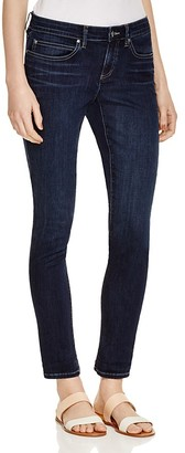 Eileen Fisher Organic Cotton Skinny Jeans in Washed Indigo $178 thestylecure.com