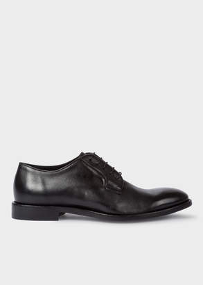 Paul Smith Men's Black Leather 'Chester' Flexible Travel Shoes