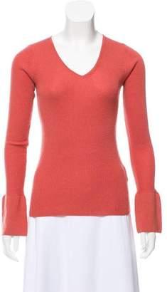 DKNY Wool-Blend Rib Knit Sweater w/ Tags