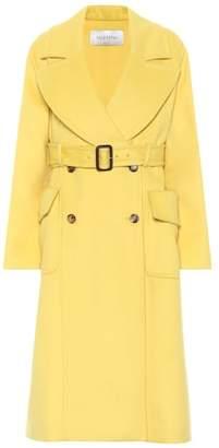 Valentino Angora and wool coat