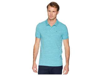 Tommy Jeans Polo Shirt Melange with Short Sleeves Men's Short Sleeve Pullover