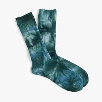 J.Crew Anonymous IsmTM uneven tie-dye crew socks