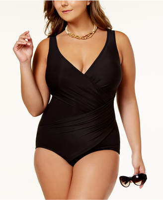Miraclesuit Plus Size Oceanus Tummy-Control One-Piece Swimsuit Women's Swimsuit