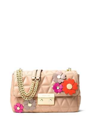 MICHAEL Michael Kors Sloan Large Floral Applique Shoulder Bag