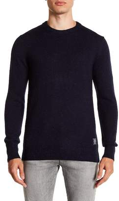 Scotch & Soda Marled Knit Crew Neck Sweater