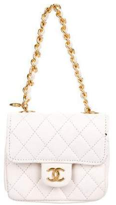 Chanel Micro Mini Quilted Bag Charm