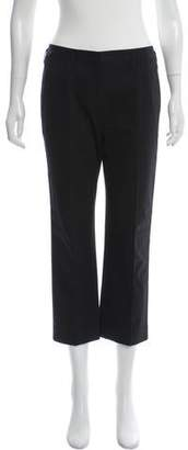 Narciso Rodriguez Mid-Rise Cropped Chino Pants