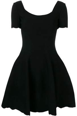 Alexander McQueen fit-and-flare dress
