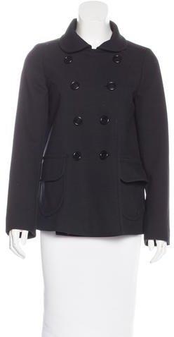pradaPrada Double Breasted Short Coat