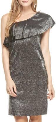 Everly One-Shoulder Disco Dress $59 thestylecure.com