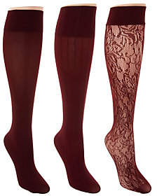 Linea by Louis Dell'Olio Body by Louis Dell'Olio Set of 3Trouser Socks