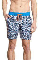 Robert Graham Blue Moon Classic Fit Board Shorts