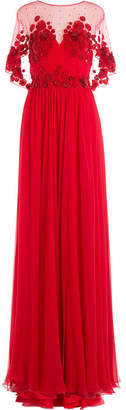 Zuhair Murad Embellished Evening Gown
