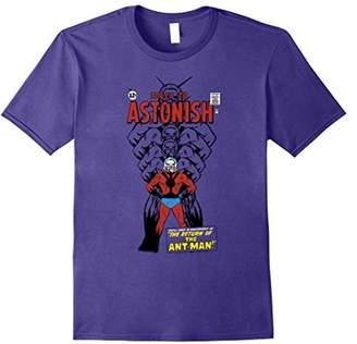Marvel Ant-Man Classic Retro Getting Bigger Graphic T-Shirt