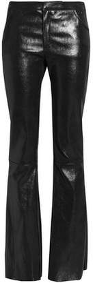 Drome Leather Flared Pants