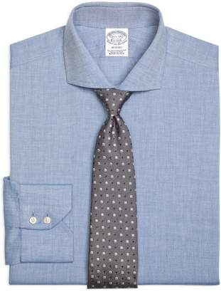 Brooks Brothers Regent Fitted Dress Shirt, Heathered