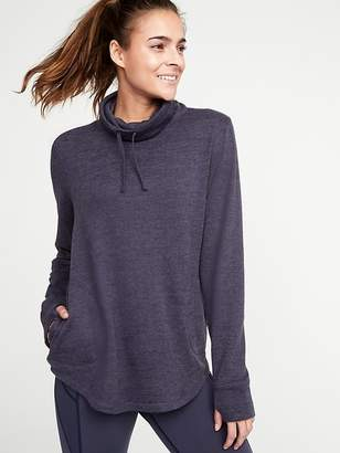 Old Navy Funnel-Neck Sweater-Knit Performance Pullover for Women