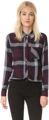RAILS Hunter Button Down Shirt $148 thestylecure.com
