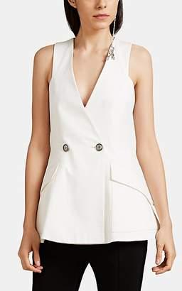 Givenchy Women's Dobby-Weave Vest - White