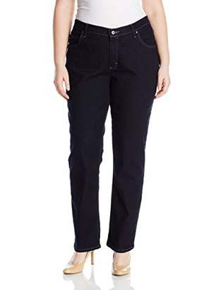 Lee Indigo Women's Plus Size Joanna Classic 5 Pocket Jean,W