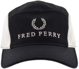 Fred Perry Oxford Baseball Cap Navy