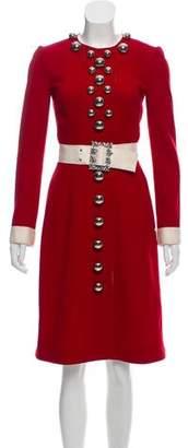 Dolce & Gabbana 2016 Wool Dress w/ Tags