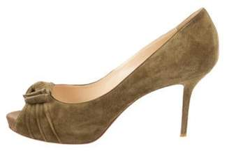 Christian Louboutin Madame Butterfly 85 Pumps Olive Madame Butterfly 85 Pumps