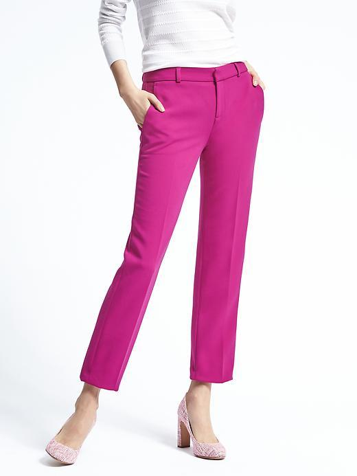 Avery-Fit Tailored Crop Pant