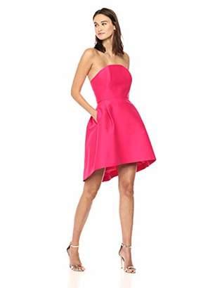 Halston Women's Strapless Structured Dress