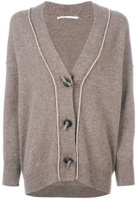 Agnona button detail cardigan