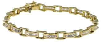 Chanel 14K Yellow Gold with 3.5ct Diamond Bicycle Bracelet