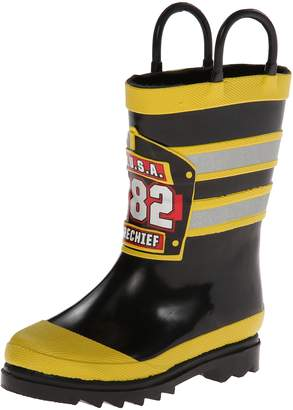 Western Chief Boys Printed Rain Boot, F.D.U.S.A