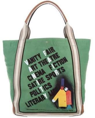 Anya Hindmarch Canvas Shoulder Bag