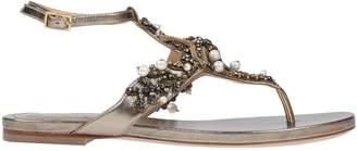 Alberta Ferretti Toe strap sandals - Item 11562509CQ