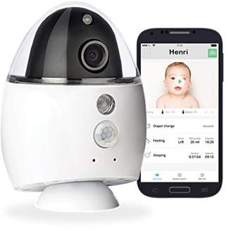 Equipment Onni Care Twinkle Remote Baby Monitor with App - Black and White