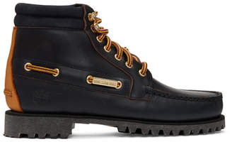 Timberland Aime Leon Dore Navy Edition 7-Eye Lug Sole Boots
