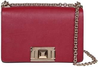 Furla Mimi mini Shoulder Strap In Cherry Color Leather