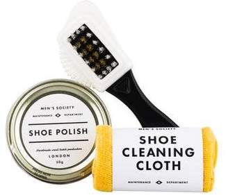 Gents Men's Society Gent's Shoe Polishing Kit