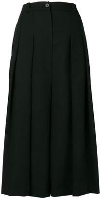 McQ pleated midi skirt