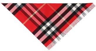 Burberry The Bandana cashmere scarf